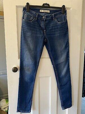 £5 • Buy Next Ladies Everyday Relaxed Skinny Jeans Size 10R
