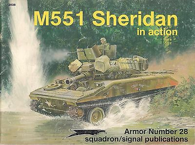 $9.95 • Buy (Squadron Signal Publications Armor Series #28) M551 Sheridan In Action