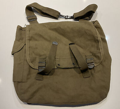 $8.95 • Buy Reproduction US ARMY WW2 M1936 MUSETTE FIELD BAG BACK PACK