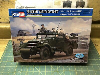 $17 • Buy 1/35 Hobby Boss US M3A1 White Scout Car Early Production W/ PE Parts # 82451