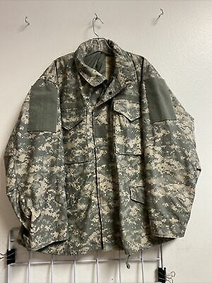 $29.95 • Buy Us Army Digital Camo M-65 Cold Weather Field Jacket Large Short Nwot