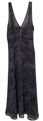 AU33.39 • Buy Urban Outfitters REFORMED Size Small Sheer Dark Floral Sleeveless Dress