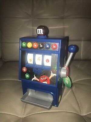 $17.99 • Buy M&M's World Slot Machine Candy Dispenser Works And Lights Up