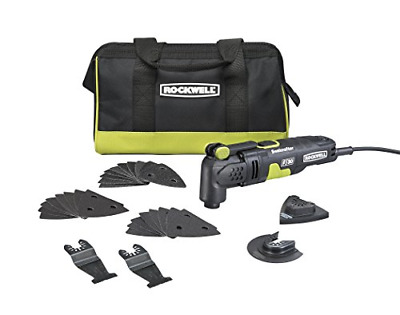 AU113.53 • Buy Rockwell RK5132K 3.5 Amp Sonicrafter F30 Oscillating Multi-Tool With 32 And Bag