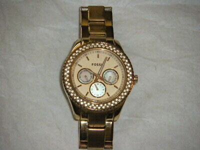 $ CDN12.44 • Buy Men's Fossil ES3003 111211 Stainless Steel Watch  5 ATM--Untested AS IS