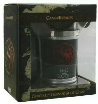 £9.99 • Buy Game Of Thrones - Fire And Blood Shot Glass