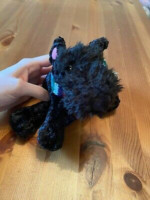 £6.50 • Buy Official TESCO Chilly And Friends Black Scottie Dog Scamp Mini Bean Bag Plush