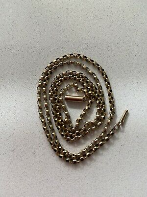 £65 • Buy 9ct Gold Chain Necklace With Barrel Clasp. Marked 9ct On Tab Near Clasp.