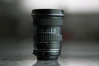 $191 • Buy Tokina 11-16mm Canon Used With Viltrox Ef-m43 Speedbooster