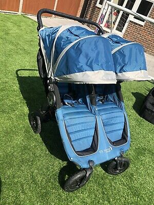 £275 • Buy Baby Jogger City Mini GT Double Buggy & Extras