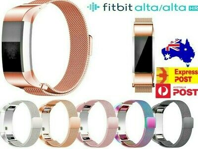 AU10.99 • Buy Fitbit Alta / Alta HR Stainless Steel Magnetic Replacement Spare Band Strap