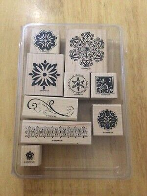£5 • Buy Stampin Up Floral Rubber Stamps
