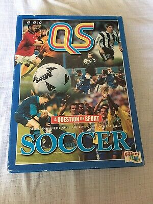 £6.50 • Buy QS A Question Of Sport Soccer Board Game