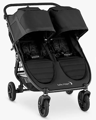 £529.99 • Buy Baby Jogger City Mini GT2 Double Pushchair, Jet - NEW - Opened Box