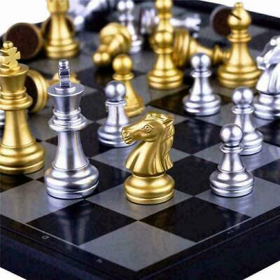 £9.49 • Buy Large Chess Set  Chessboard Magnetic Pieces Board Gift Toy RY