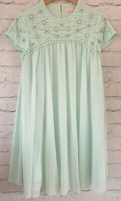 AU40.59 • Buy Ted Baker Special Occasion Bead Detail Dress Size 2 Uk 8/10