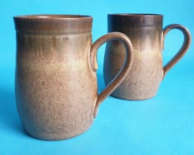 £7.99 • Buy Vintage Denby 'Romany' Mug X 2, Designed By Glyn Colledge & Jim Moss In 1970's