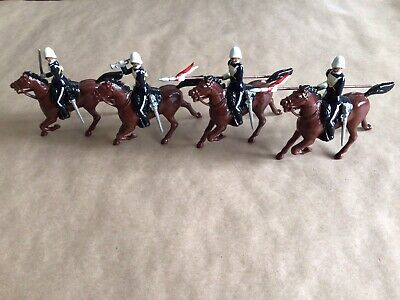 £15 • Buy Boxed Set Of Britains Toy Soldiers. Duke Of Cambridge's Own 17th Lancers 8806