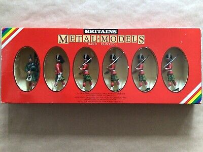 £5 • Buy Boxed Set Of Britains Toy Soldiers. Gordon Highlanders 7239
