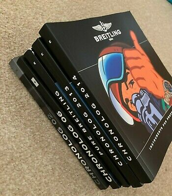 £19.99 • Buy BREITLING CATALOGUE Various Years