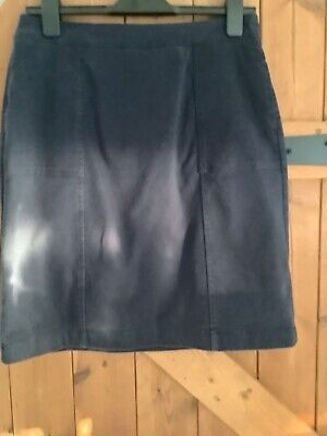 £3.50 • Buy Boden Ladies Navy Chino Skirt - Size 8L .(fits10)