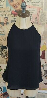 £10 • Buy New With Tags Zara Black Cut Out Top Size L