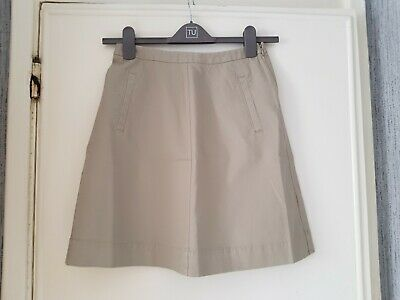 £10.50 • Buy Beige Chino Skirt By Boden Size 8 R Wg591