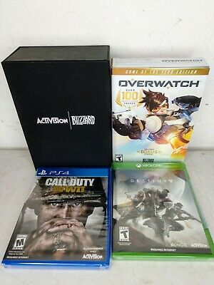 AU26.71 • Buy Blizzard Activision Overwatch, Destiny 2, Call Of Duty New Games In Gift Box