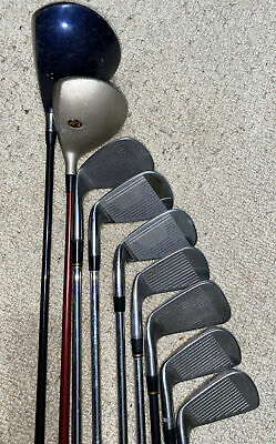 AU61.46 • Buy Mens Mixed Golf Clubs Set Right Handed. Titleist Maxfli Nike