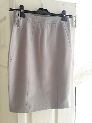 £8.90 • Buy Ladies ( Reiss) Gray Pencil Skirt Size Uk 6 Excellent Condition