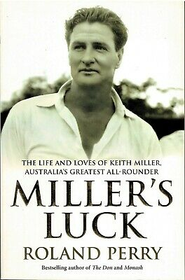 AU22.50 • Buy Miller's Luck - Australia's Greatest Cricket All-Rounder By Roland Perry
