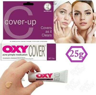 £8.32 • Buy OXY Cover Up Acne Pimple Spot Medication And Treatment 25g