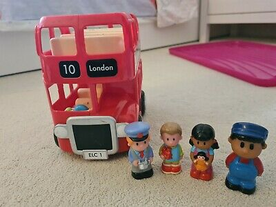 £2.20 • Buy ELC Happyland London Bus Set With Figures & Working Sounds (please See Photos)