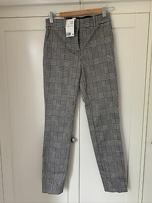 £2.50 • Buy H&M Black And White Dogtooth Check Trousers Size 6 BNWT