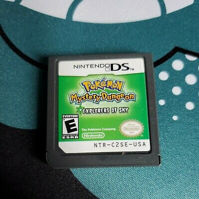 $89 • Buy Pokemon Mystery Dungeon: Explorers Of Sky (DS, 2009) - Used, No Case.