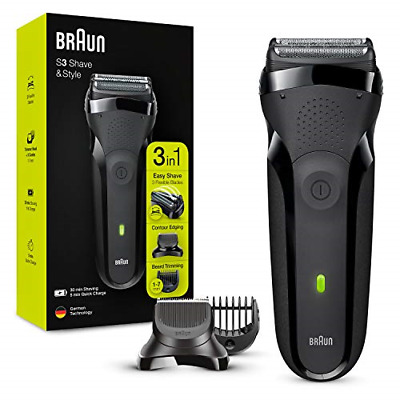 View Details Braun Series 3 Shave&Style 300BT 3-in-1 Electric Shaver, Razor For Men With And • 68.51£