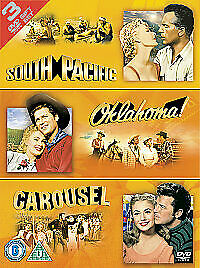 £5.49 • Buy South Pacific / Oklahoma / Carousel DVD BOX SET NEW & SEALED - FAST FREE P&P