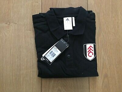 £7.99 • Buy Brand New - Adults Fulham Fc Football Adidas Polo T-shirt, Size; Small