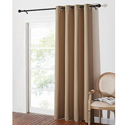 £23.84 • Buy PONY DANCE Living Room Blackout Curtain - Eyelet Top Blackout Curtain For Room 1
