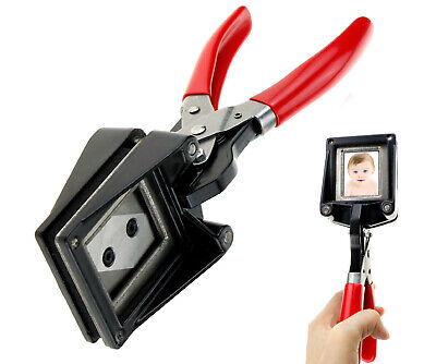£26.58 • Buy Portable Handheld Passport ID License Picture Photo Punch Cutter Cutting Tool