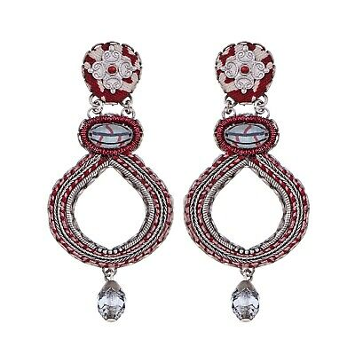 £69 • Buy AYALA BAR Beautiful 'RED ROCK' Earrings New HIP Collection Winter 2020