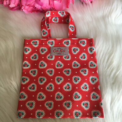 £10 • Buy Girls, Cath Kidston, Kids, Small Shopper Bag, Red, Floral And Heart  Print