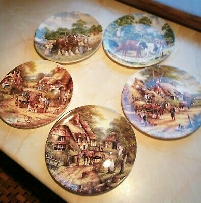£30 • Buy 5 Plates Country Days & Life On The Farm