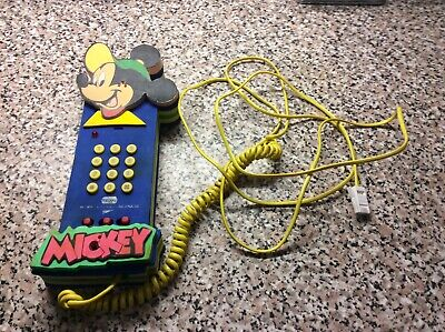 £19.99 • Buy Mickey Mouse Push Button Phone