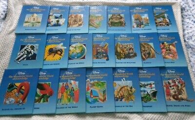 £15 • Buy Disney The Wonderful World Of Knowledge Children's Books Set Collection...