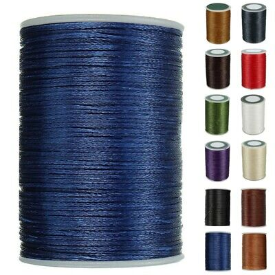 £4.78 • Buy 0.8mm Bonded SEWING Thread For Upholstery Leather Outdoor Canvas Beading Craft