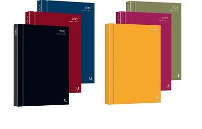 £7.49 • Buy 2022 A4, A5 Day To Page, Week To View  Diary Hardback Casebound Diary