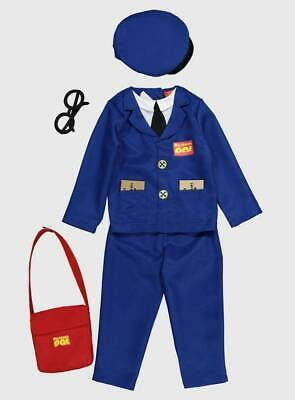 $27.88 • Buy Postman Pat Fancy Dress Costume Ages 3-4 And 5-6 Years