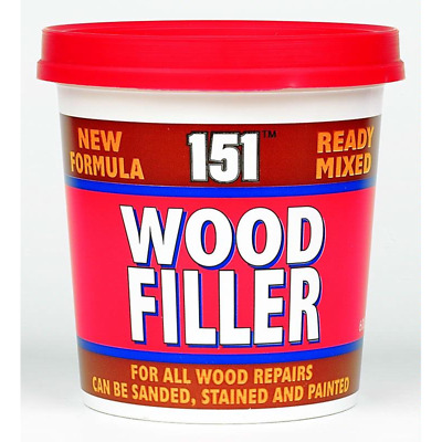 £5.39 • Buy 151 Ready Mixed Wood Filler Cracks Remover 600g For Interior & Exterior UK