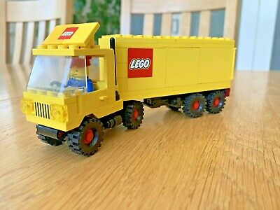 £10 • Buy Vintage Lego Tractor Trailer 6692 With Original Instructions & Minifigure